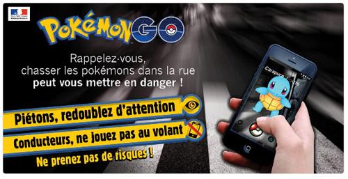 De nombreux accidents de la route ont été causés par le jeu Pokémon Go