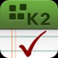 K2 présente son application pour iOS et BlackBerry OS