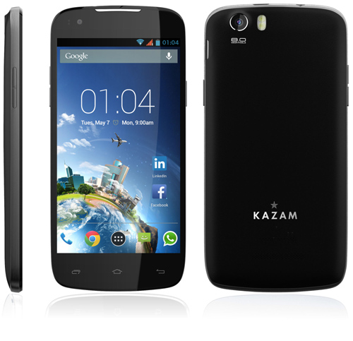 Kazam signe avec son premier opérateur mobile : Free