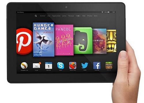 Kindle Fire HDX 8.9 : la tablette la plus puissante d'Amazon