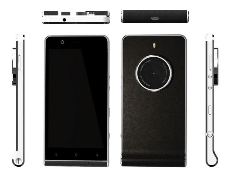 Kodak Ektra : un smartphone cachant une caméra ou une caméra cachant un smartphone ?