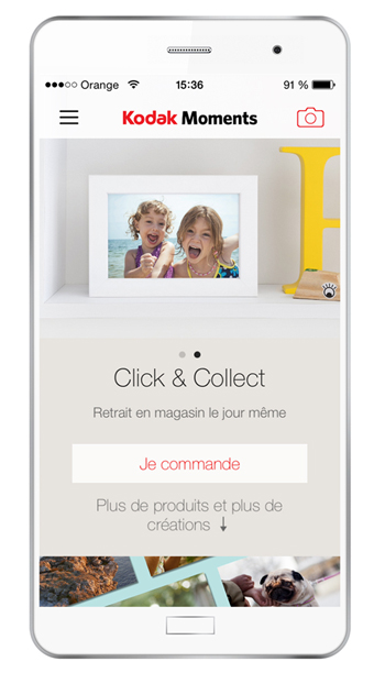 Kodak Moments : la nouvelle application photo de Kodak