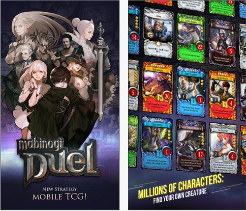 Le jeu de carte Mabinogi Duel est disponible sur mobile