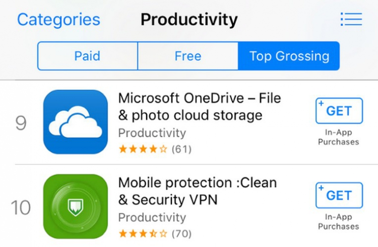 L'App Store laisse passer des applications spécialisées dans l'escroquerie