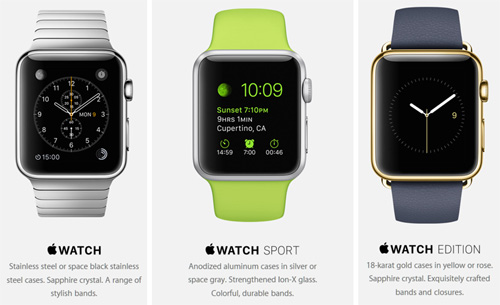L'Apple Watch débarque le 24 avril en France