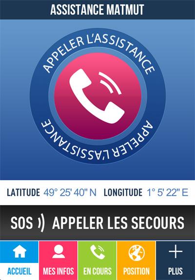 L'application Assistance Matmut, la sécurité dans la poche 24 h/24 et 7 j/7