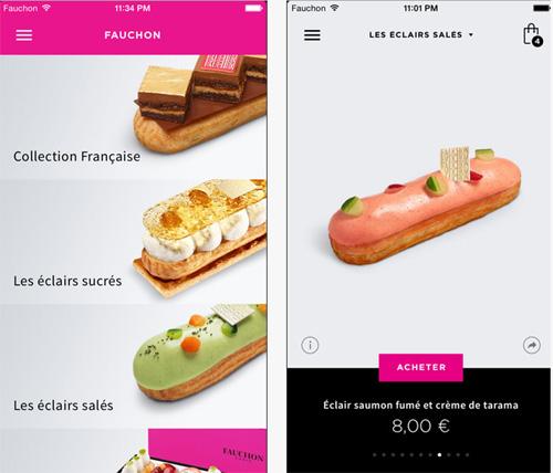 La mythique épicerie Fauchon, de la place de la Madeleine, lance son application