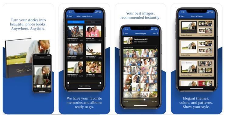 L'application Motif pour iOS permet de créer des livres photo personnalisés