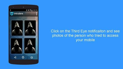 Third Eye, l'application qui permet de savoir qui a tenté d'accéder à un smartphone