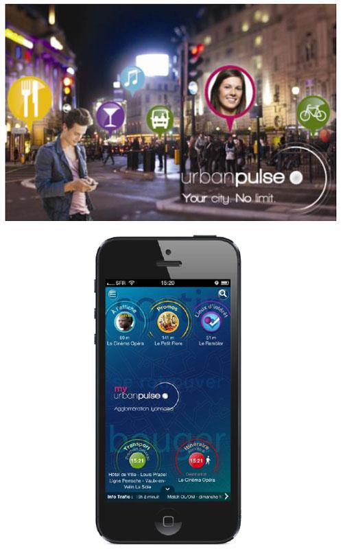 L'application Urban Pulse arrive à Lyon