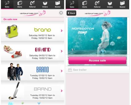 L'application vente-privee.com désormais disponible pour les smartphones BlackBerry