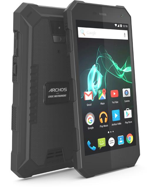 L'Archos 50 Saphir, un smartphone fait pour les milieux hostiles