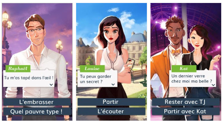 City of Love: Paris : une aventure interactive à Paris