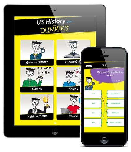 L'Histoire Americain pour les Nuls est disponible sur iPad et iPhone