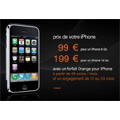 L'iPhone à 99 euros chez Orange