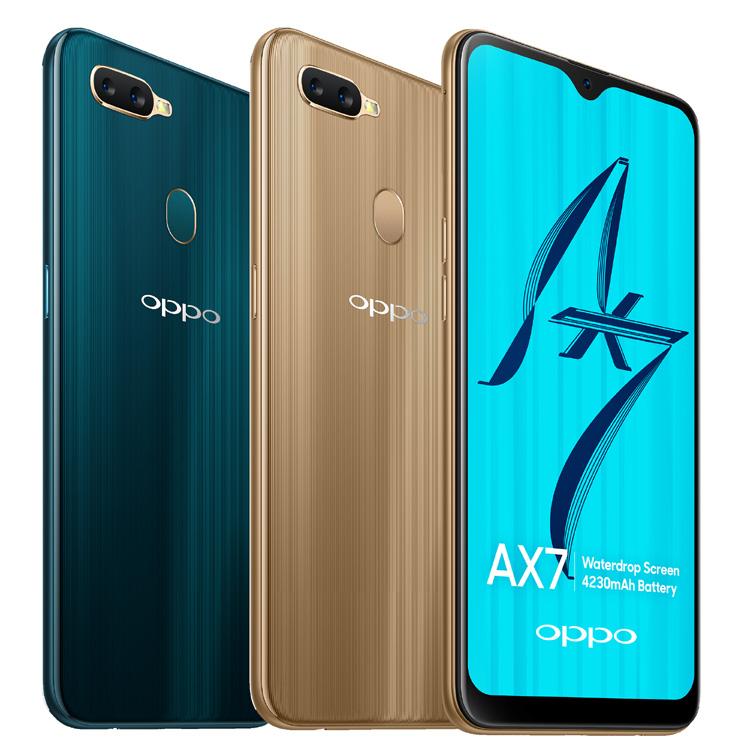 L'Oppo AX7 : un smartphone aux performances améliorées au niveau de l'autonomie