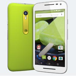Motorola dévoile son 3ème Moto G