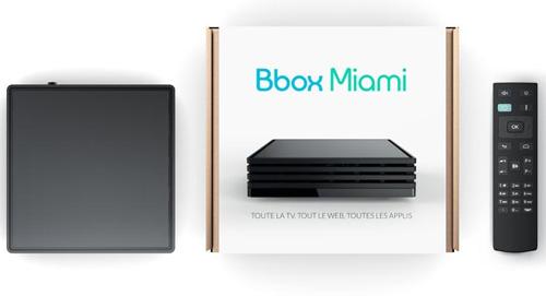 La Bbox Miami est proposée aux nouveaux abonnés