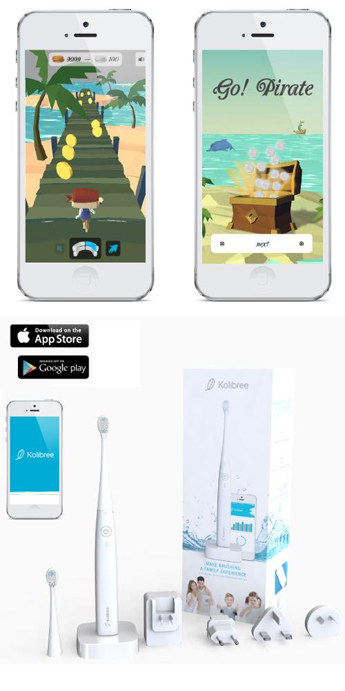 Kolibree, la brosse à dents qui se connecte à votre smartphone