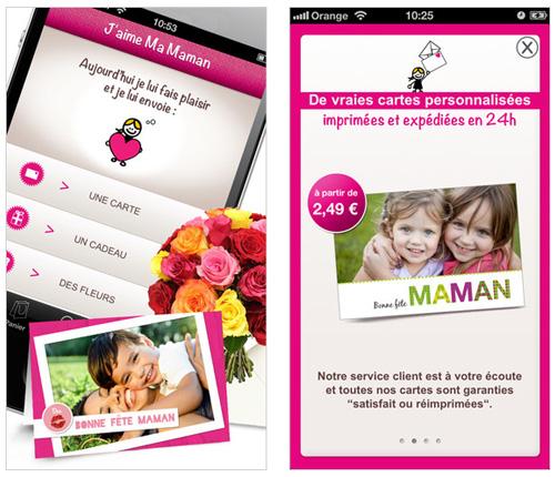 La fête des Mères peut devenir mobile avec l'application J'aimeMaMaman