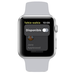 La fonction Talkie-Walkie est de retour sur l'Apple Watch