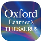 La nouvelle application Oxford Learner's Thesaurus