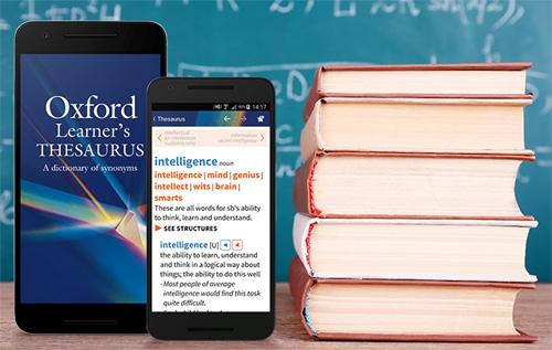 La nouvelle application Oxford Learner's Thesaurus arrive sur Android
