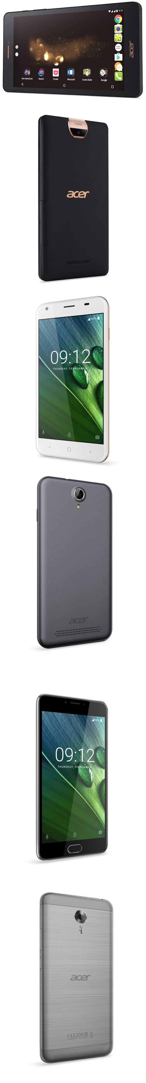Acer lance sa phablette Iconia Talk S et sa gamme Liquid Z6