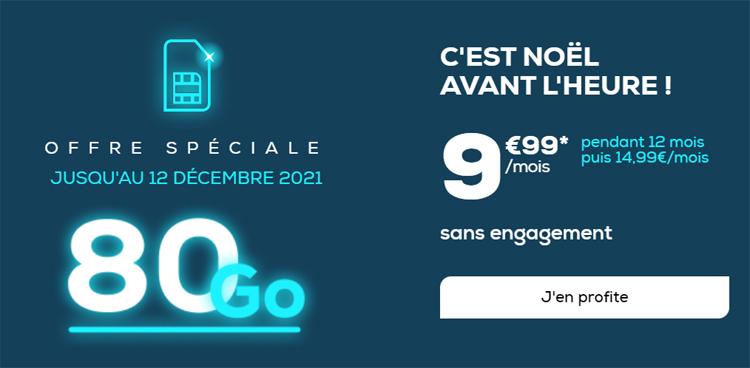 La Poste Mobile : une offre spéciale avec 80 Go pour 9.99 € par mois jusqu'au 10 octobre