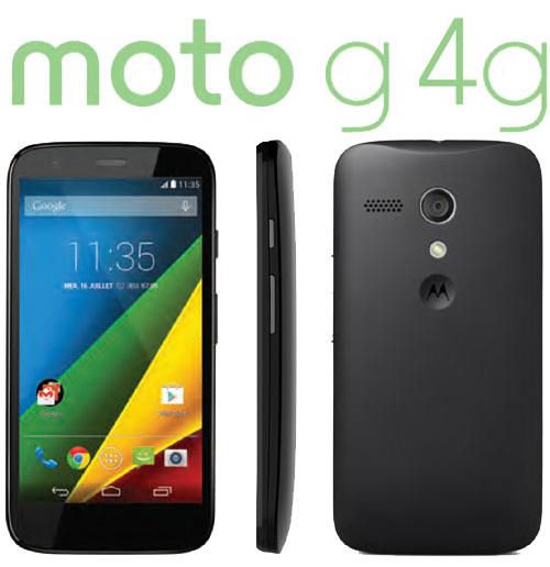 La version 4G du Motorola Moto G débarque en France