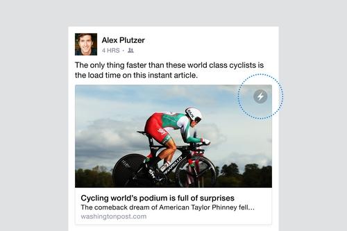 Instant Articles de Facebook fait son entrée sur Android