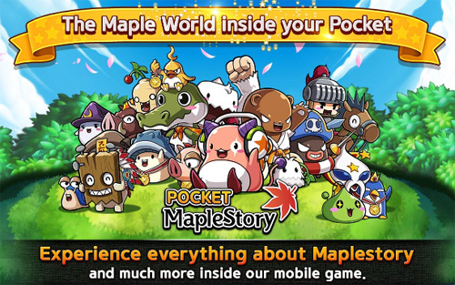 La version mobile de Pocket MapleStory sur Android est disponible