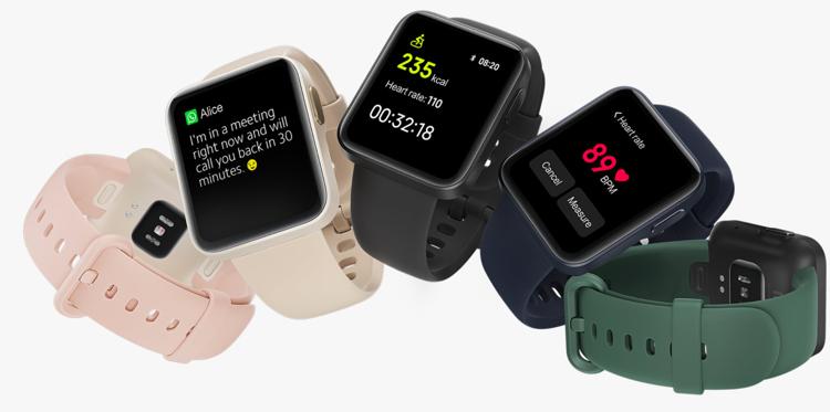 La Xiaomi Mi Watch Lite : une montre connectée pour les sportifs