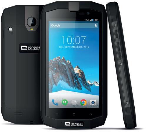 Le TREKKER-X2 : le deuxième smartphone 4G tout terrain chez Crosscall