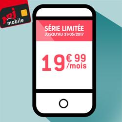 NRJ Mobile : forfait 50 Go à 19,99€  par mois