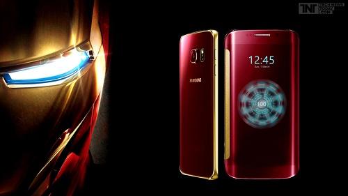 Un téléphone rien que pour les supers héros, le Galaxy S6 Iron Man