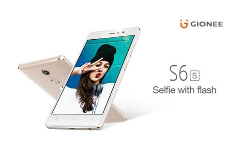 Gionee S6S, le nouveau smartphone  Android du fabricant chinois