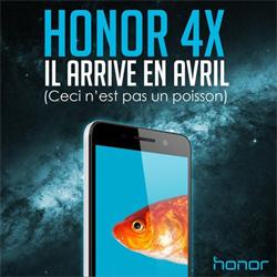 Le Honor 4X arrive bientôt en France