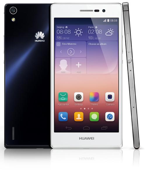 """Le Huawei Ascend P7 est élu """"European Consumer Smartphone 2014 – 2015"""""""