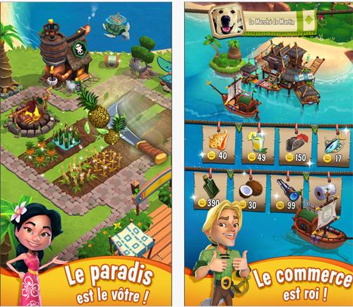 La Baie du Paradis arrive sur iOS