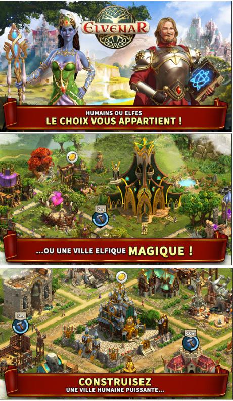 Heroic-Fantasy Elvenar est disponible sur iOS et Android