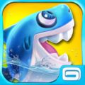 Le jeu Shark Dash disponible sur Android OS et iOS