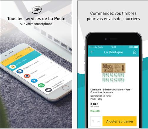 Commandez désormais vos timbres depuis votre smartphone