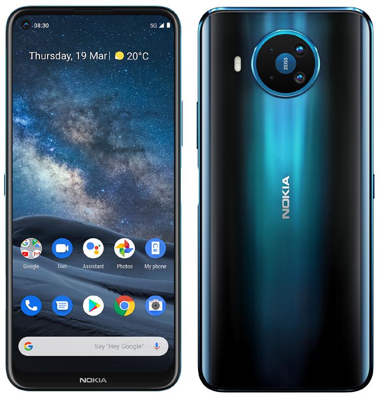 Le Nokia 8.3 5G est le premier Nokia à recevoir la dernière mise à jour Android 11