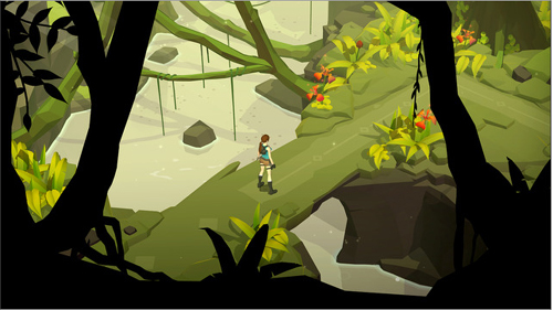 Lara Croft GO sort sur  iOs, Android et  Windows Phone