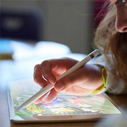 Le nouvel iPad 2018 est compatible avec l'Apple Pencil