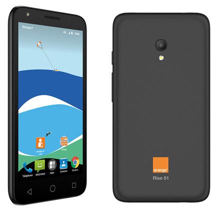 Le Orange Rise 51, un nouveau smartphone 4G signé Orange