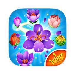 Le pouvoir des fleurs ! Blossom Blast Saga est disponible sur mobile