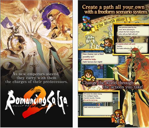 Le RPG Romancing Saga 2 débarque sur iOS et Android