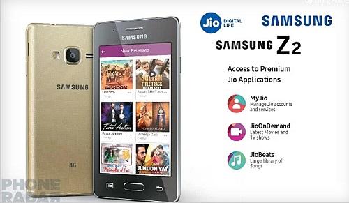 Le nouveau smartphone d'entrée de gamme sous Tizen, le Samsung Z2